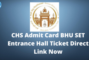BHU-CHS-Admit-Card