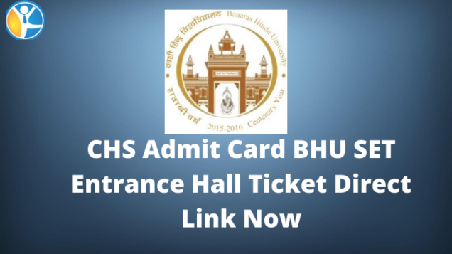 BHU-CHS-Admit-Card